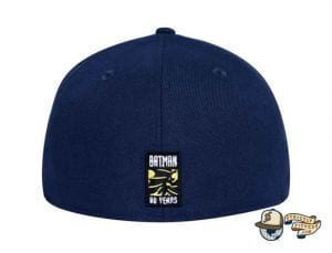 Bat Sign Batman 80th Navy 59Fifty Fitted Cap by DC x New Era Back