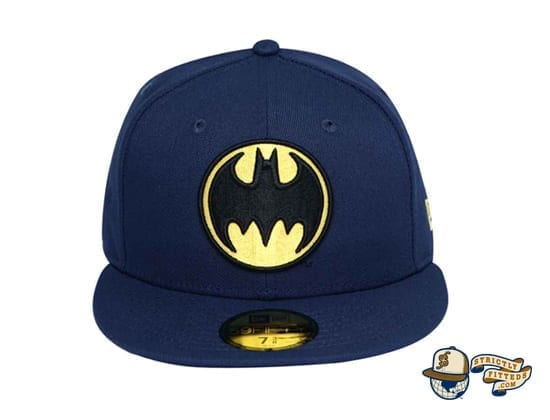 Bat Sign Batman 80th Navy 59Fifty Fitted Cap by DC x New Era