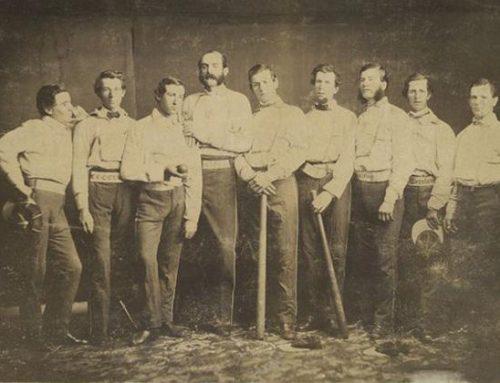 19th Century Baseball Cap History