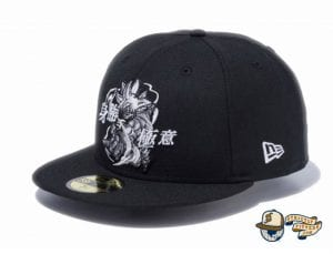 Dragon Ball Super Son Goku 59Fifty Fitted Cap by Dragon Ball Z x New Era side