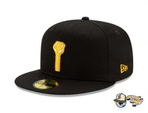 Hardies Hardware Black 59Fifty Fitted Cap by Hardies Hardware x New Era left