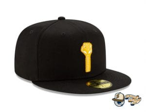 Hardies Hardware Black 59Fifty Fitted Cap by Hardies Hardware x New Era right