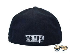 Heritage Dark Navy Fitted Cap by Baseballism Back