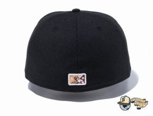 Minor League Lehigh Valley IronPigs Black 59Fifty Fitted Hat by New Era Back