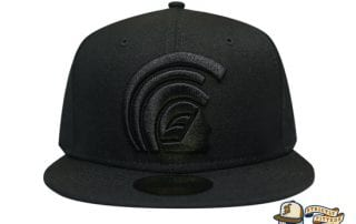 Mua Black Black 59Fifty Fitted Hat by Fitted Hawaii x New Era front
