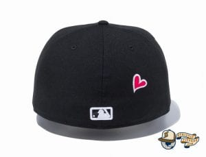 New York Yankees Heart 59Fifty Fitted Hat by MLB x New Era back
