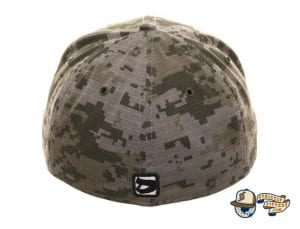 Octoslugger Digital camo 59Fifty Fitted Cap by Dionic x New Era Back