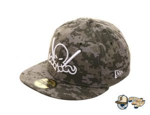 Octoslugger Digital Camo 59Fifty Fitted Cap by Dionic x New Era Side