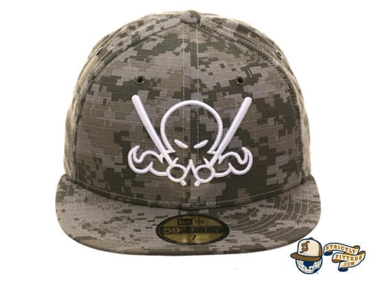 Octoslugger Digital Camo 59Fifty Fitted Cap by Dionic x New Era