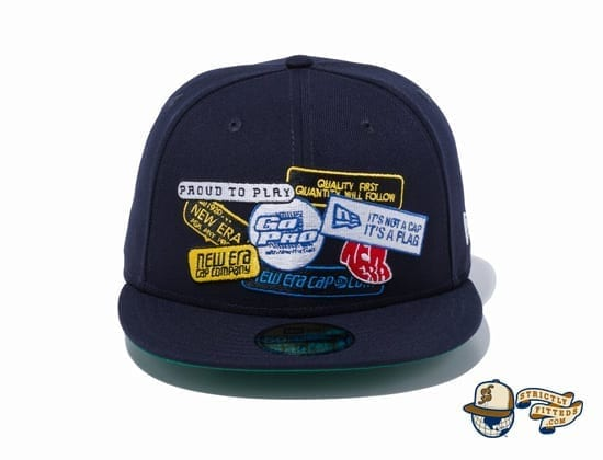 Old Logo Patch 59Fifty Fitted Cap by New Era