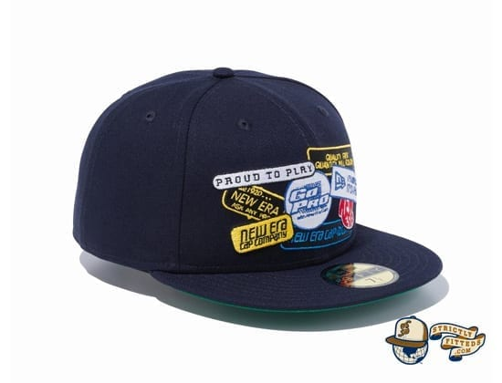 Old Logo Patch 59Fifty Fitted Cap by New Era right Side