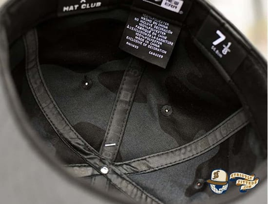 Repreve Blackout Oni 59Fifty Fitted Cap by Dionic x New Era inside