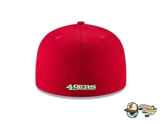 San Francisco 49ers Super Bowl LIV Side Patch 59Fifty Fitted Cap by NFL x New Era Back
