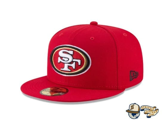 San Francisco 49ers Super Bowl LIV Side Patch 59Fifty Fitted Cap by NFL x New Era Side