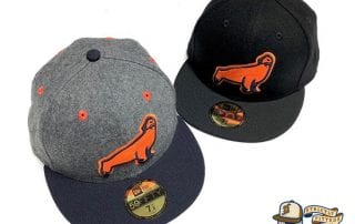 SF Seals Melton Wool 59Fifty Fitted Cap by So Fresh x New Era top