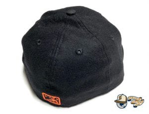 SF Seals Melton Wool 59Fifty Fitted Cap by So Fresh x New Era Back Black