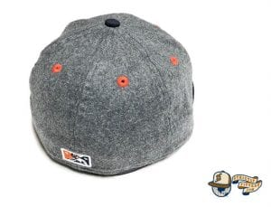 SF Seals Melton Wool 59Fifty Fitted Cap by So Fresh x New Era Back Grey