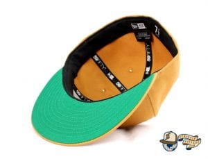 SJ Monogram 59Fifty Fitted Cap by Headliners x New Era Bottom Tan