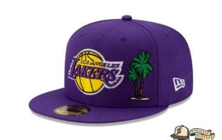 Team Describe Collection 59Fifty Fitted Cap by NBA x New Era Lakers