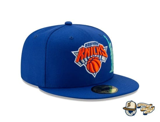 Team Describe Collection 59Fifty Fitted Cap by NBA x New Era Knicks