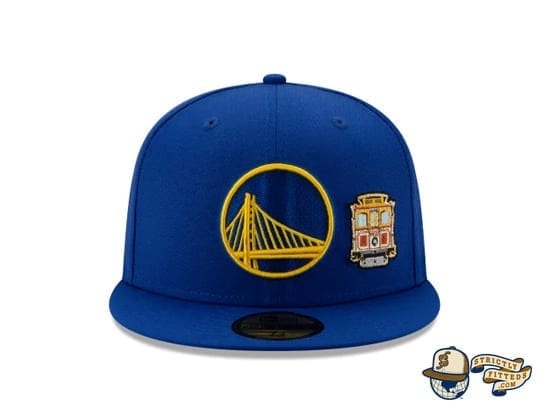 Team Describe Collection 59Fifty Fitted Cap by NBA x New Era Warriors