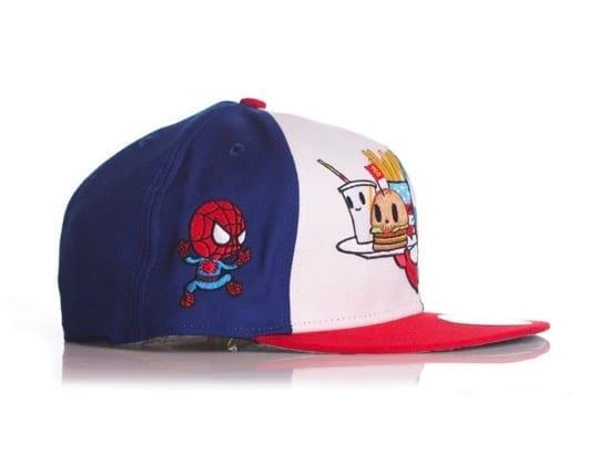 Toki Doki x Captain America New Era x Marvel 59fifty Fitted Hat Side