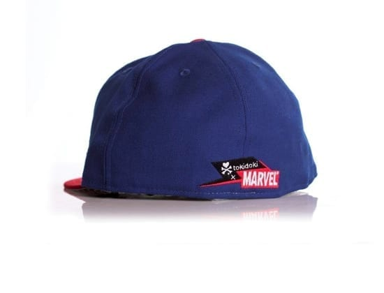 Toki Doki x Captain America New Era x Marvel 59fifty Fitted Hat Back