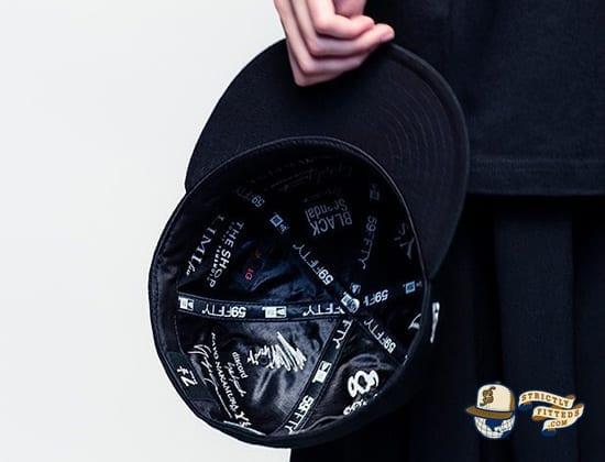 Yohji Yamamoto Special Era 59Fifty Fitted Hat by Yohji Yamamoto x New Era Inside