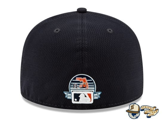 Detroit Tigers 2020 Spring Training Navy 59Fifty Fitted Hat by MLB x New Era back