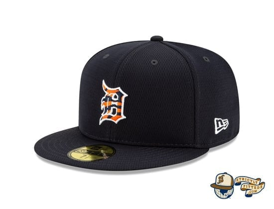 Detroit Tigers 2020 Spring Training Navy 59Fifty Fitted Hat by MLB x New Era flag side