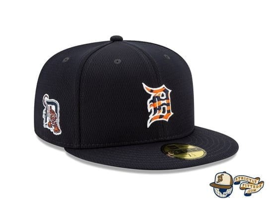 Detroit Tigers 2020 Spring Training Navy 59Fifty Fitted Hat by MLB x New Era side