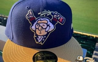 George Washington Celebrates A World Series 59Fifty Fitted Cap by Harrisburg Senators x MILB x New Era