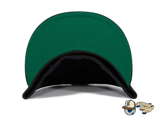 Goose Island Bombers Navy 59Fifty Fitted Hat by Dionic x New Era under bill
