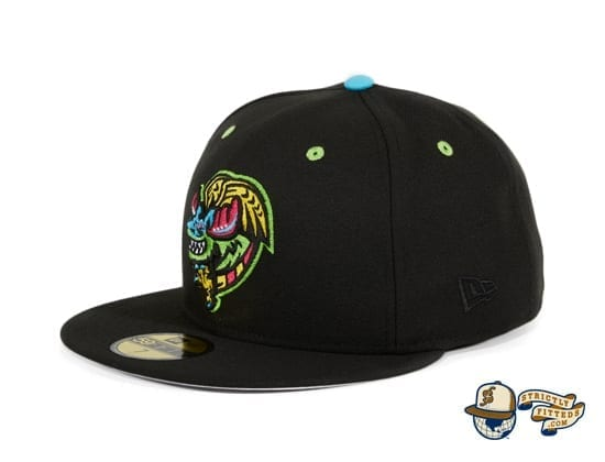 Hat Club Exclusive Alebrijes de Modesto 59Fifty Fitted Hat by MiLB x New Era flag side
