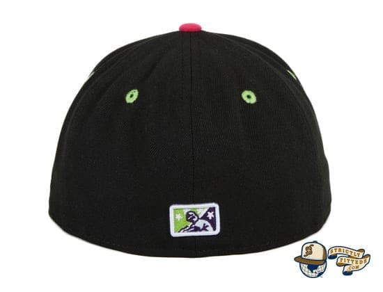 Hat Club Exclusive Bowling Green Bolidos Black Copa de la Diversion 59Fifty Fitted Hat by MiLB x New Era back