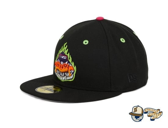Hat Club Exclusive Bowling Green Bolidos Black Copa de la Diversion 59Fifty Fitted Hat by MiLB x New Era side