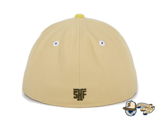 Hat Club Exclusive McLaren Ducks Tan 59Fifty Fitted Hat by Thrill SF x New Era back