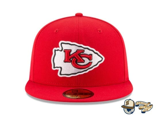 Kansas City Chiefs Super Bowl Champions Side Patch 59Fifty Fitted Cap by NFL x New Era