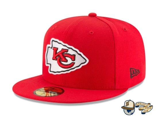 Kansas City Chiefs Super Bowl Champions Side Patch 59Fifty Fitted Cap by NFL x New Era flag side