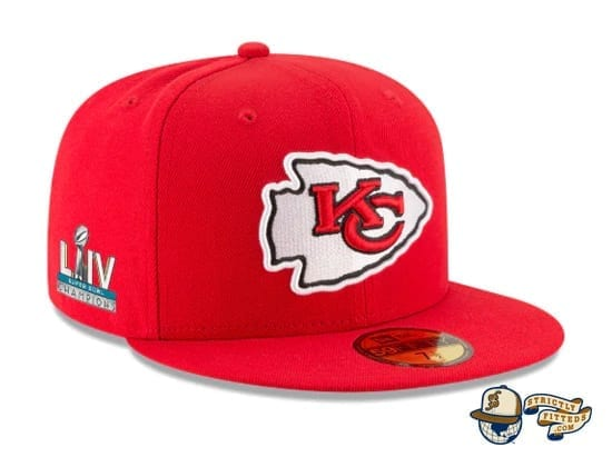 Kansas City Chiefs Super Bowl Champions Side Patch 59Fifty Fitted Cap by NFL x New Era side