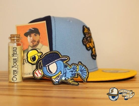 Maritimer 59Fifty Fitted Cap by Over Your Head x New Era package