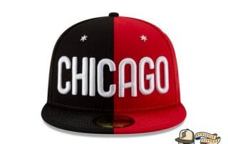 NBA All Star Game Chicago Split 59Fifty Fitted Cap by NBA x New Era