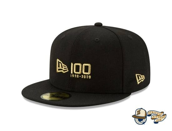 New Era 100th Anniversary 59Fifty Fitted Cap flag side