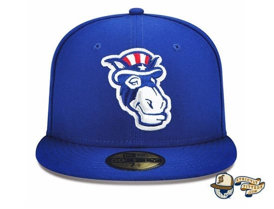 New Hampshire Primaries 59Fifty Fitted Hat by MiLB x New Era blue