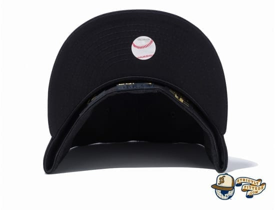 New York Yankees New Era 100th Anniversary Logo Side 59Fifty Fitted Cap by MLB x New Era under bill
