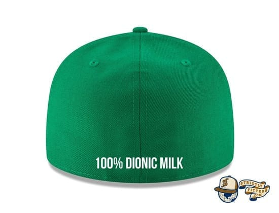 Octo MILK Kelly Green 59Fifty Fitted Cap by Dionic x Milk x New Era back