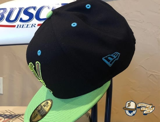 Platano Power 59Fifty Fitted Cap by Hit Factory x New Era flag side