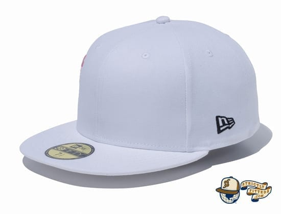 Sakura Light Side 59Fifty Fitted Cap by New Era flag side white