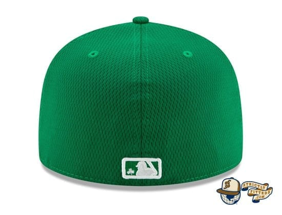 St. Patrick's Day 2020 On Field 59Fifty Fitted Hat by MLB x New Era back