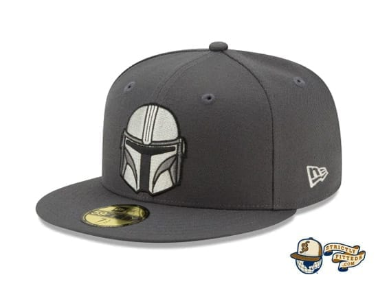 The Mandalorian Collection 59Fifty Fitted Cap by Star Wars x New Era flag side